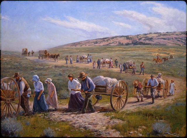 Pioneers-Handcarts